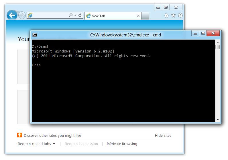 CWindowssystem32cmd.exe - cmd